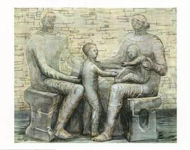 Buy Family Group, 1948 at Art.com